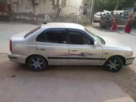 Accent sedan luxury 5 tyre new battery new rc khatm h bs