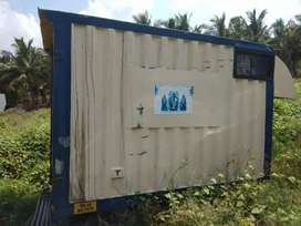 Dost pickup container