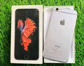Iphone 6s - 64gb - gray colour - full kit - good condition - warranty