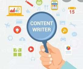 Penerjemah teks dan content writer