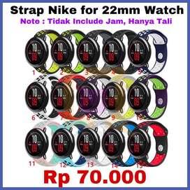 Strap Model NIKE Untuk Smartwatch 22mm ORIGINAL