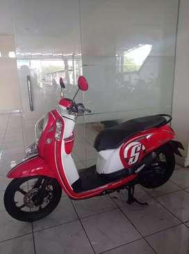 Honda beat fi 2016 cash /kredit bali dharma motor