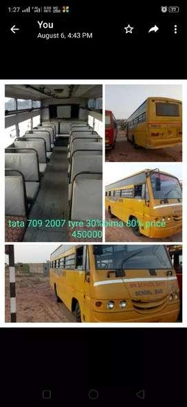 Tata 709 school bus