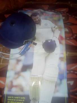 Cricket Helmet with free  poster