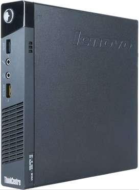 Lenovo M93P Tiny Desktop /Core i3 4th gen /4gb Ram/500gb HDD/ Small Si