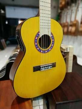 Gitar 3/4 Akustik Elektrik klasik nilon