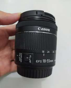 Lensa Canon 18-55m is stm