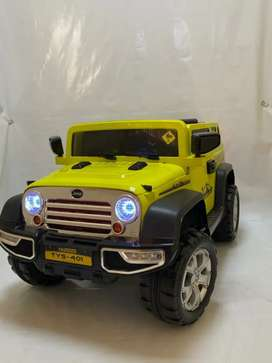 Wrangler jeep for kids Battery Operated rechargeable for kids 3-7years