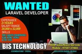 Laravel Develper Wanted