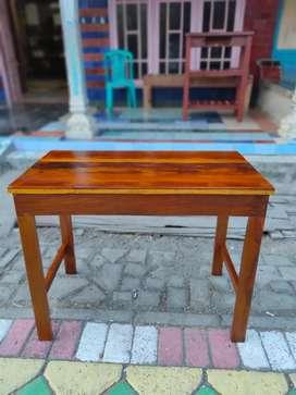 Meja kayu Siap kirim bayar cod