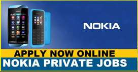 NOKIA process hiring for Back Office / Data Entry / CCE/ BPO /Telecall