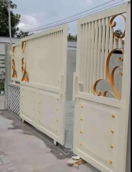 Kami jasa pembuatan pagar,canopy,ralling,balkon dll.