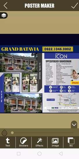 Cluster Batavia Icon Grand Batavia Rumah Cluster Murah Tangerang Jaya