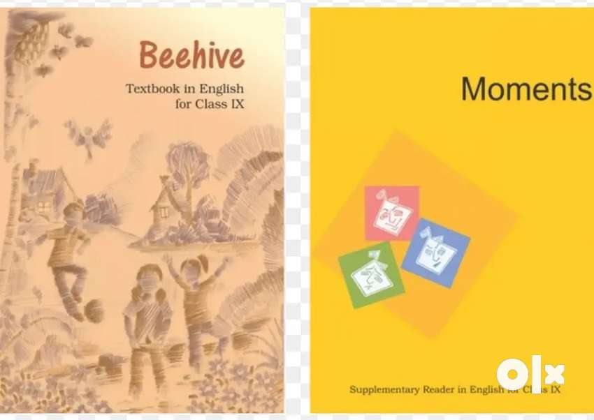 CLASS 9th English textbooks NCERT Beehive and Moments