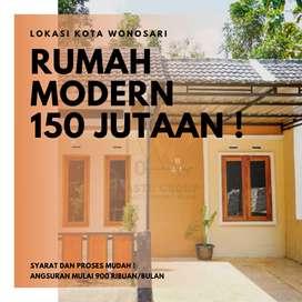 TERMURAH ! RUMAH MODERN TERBARU DI KOTA WONOSARI HANYA 150 JUTAAN !