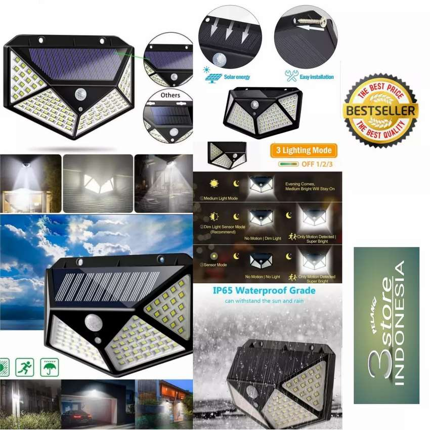 Lampu LED outdoor solar cell 0