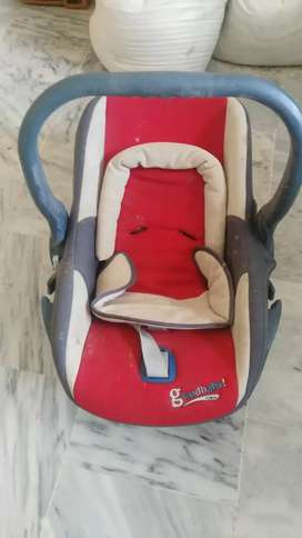 Carry cot car seat
