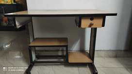 Solid Wooden Computer Table/Workstation For Sale