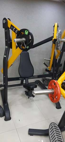 Plate loaded Stack loaded  branded gym equipments