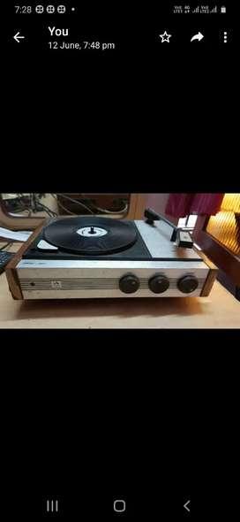 Record Player Gramophone Hmv