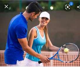 Tennis teacher