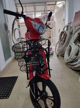 Jual sepeda listrik united milez pemakaian 2 minggu