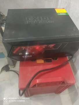 Exide Inverter with Battery