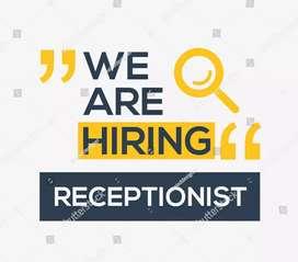 Receptionist cum office coordinator