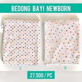 Bedong newborn katun