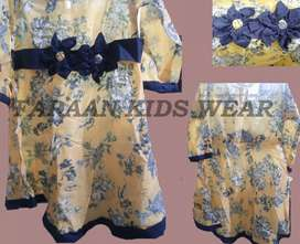 Beautiful ready to wear lawn frock for baby girl