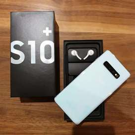 Samsung  s10 Plus 8gb 128gb white 10 months old with Bill Box Access