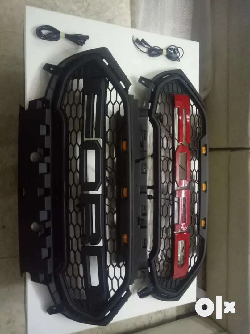 Ford ecosport front grill with led