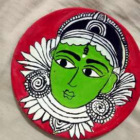 Plate painting