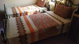 Rought iron bed set for sale