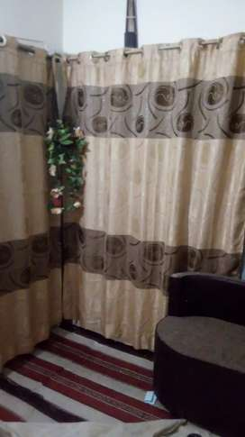4 curtain in good condition