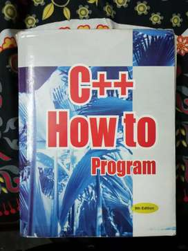 C++ How to Program by Deitel n Deitel