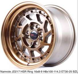 Velg HSR Namrole R16x8-9 H8 Bisa Kredit