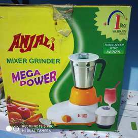 Fully new condition mixer grinder
