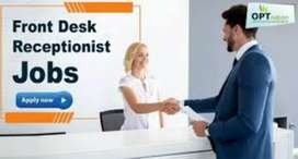 Hiring for front office executive (Receptionist)