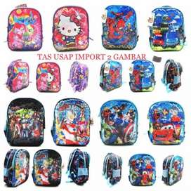Wb Tas Ransel Sequin USAP KEKINIAN TK LOL Frozen Hello Kitty