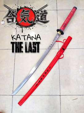 Samurai katana THE LAST RED