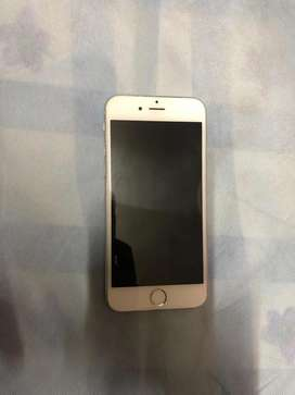 Iphone 6s 64 gb silver colour 1.5 year old phone and orignal charger