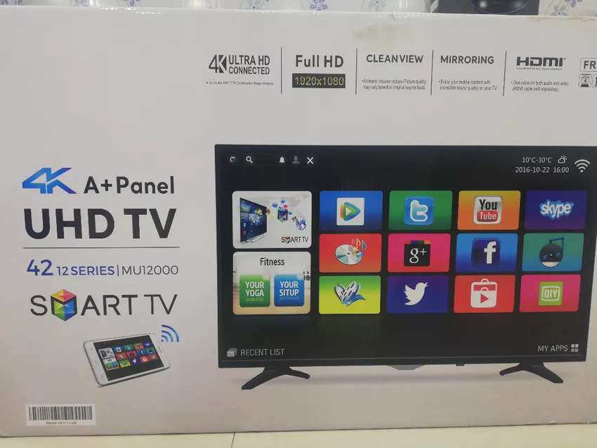 "42""inch Samsung Smart Wi-Fi Uhd 4k Ultra HD Slim Malaysia LED 0"