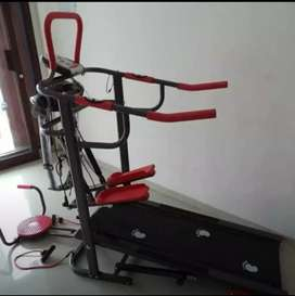 Ready Stok ~ Treadmill Manual 6Fungsi // Cod Bisa