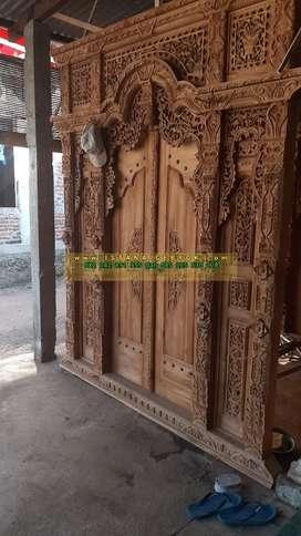 cuci gudang pintu gebyok gapuro jendela rumah masjid musholla fatun