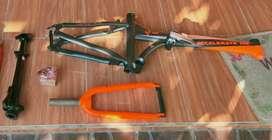 Frame sepeda lipat XLR8 20 inch
