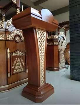 Mimbar masjid mimbar podium.