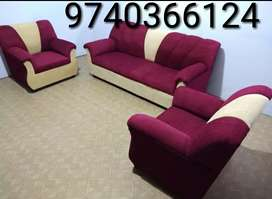 New offer on brand new 3+1+1 seater sofa set