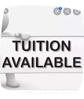 Tuitions from class 1st to 8th available