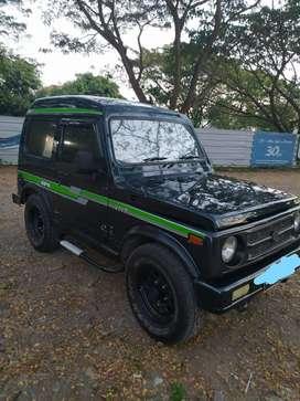 Dijual Mobil Suzuki Katana Short 2WD GX Tahun 1996 Pajak Panjang